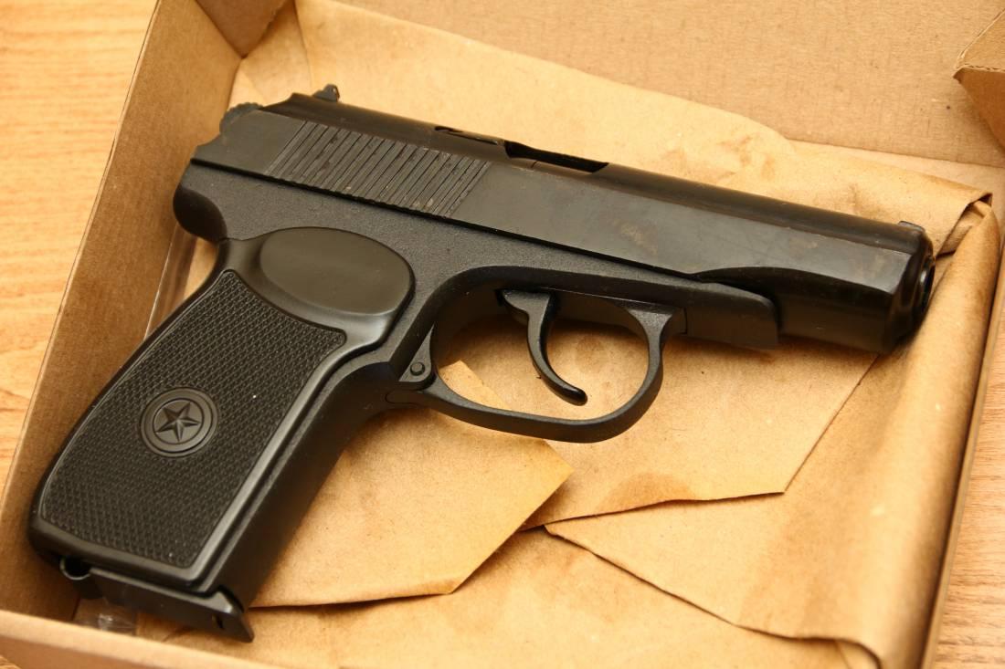 Фото Охолощенный пистолет Макарова Р-411 №184420197 «бородач»