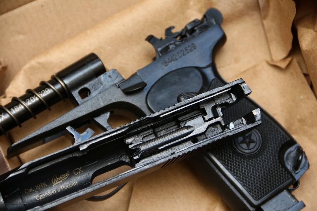 Фото Охолощенный пистолет Макарова Р-411 №1844202529