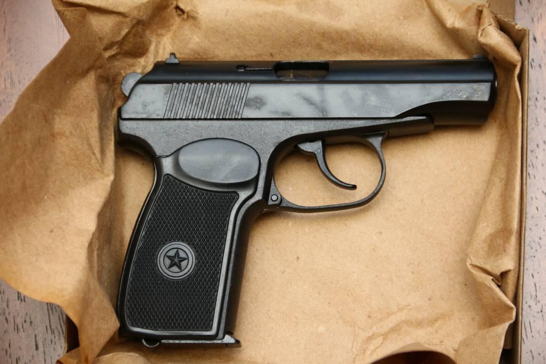 Фото Охолощенный пистолет Макарова Р-411 №1844203048