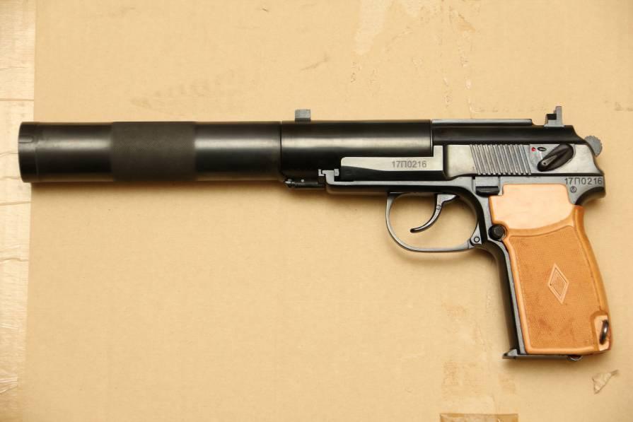 Фото Охолощенный пистолет ПБ Р-413 №17П0216, современный выпуск