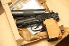 Охолощенный пистолет ПБ Р-413 №17П0216, современный выпуск