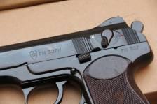 Охолощенный пистолет Стечкина 1957 год, №ГН327И, коллекционное состояние