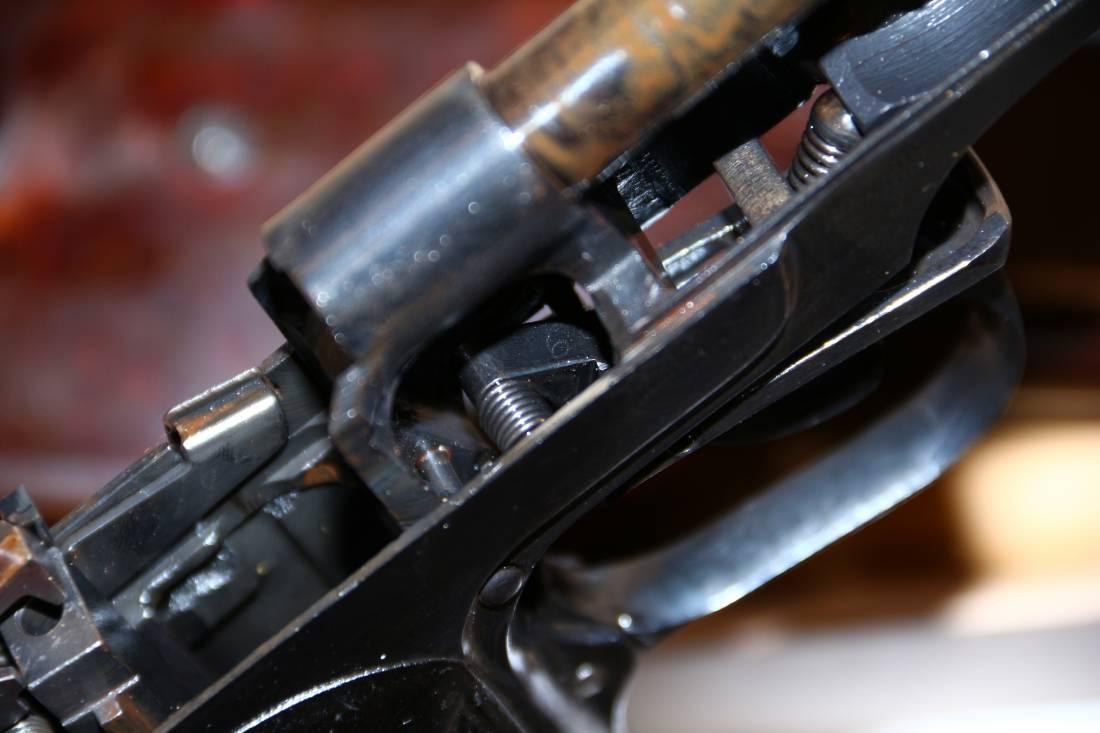 Фото  Охолощенный пистолет Стечкина 1953 год, №КВ169, коллекционное состояние