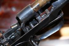 Охолощенный пистолет Стечкина 1953 год, №КВ169, коллекционное состояние