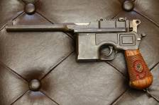 Mauser Red-9, №100605, прусский орел, клеймо SA, оригинальная кобура