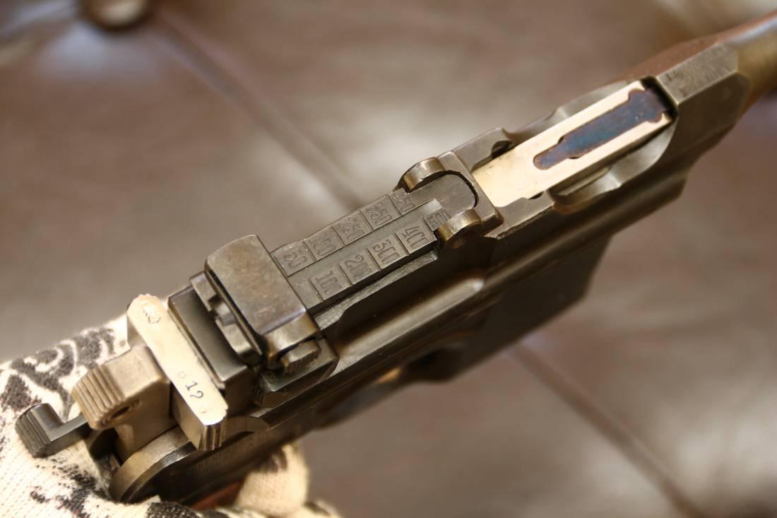 Фото Mauser Red-9, №100605, прусский орел, клеймо SA, оригинальная кобура