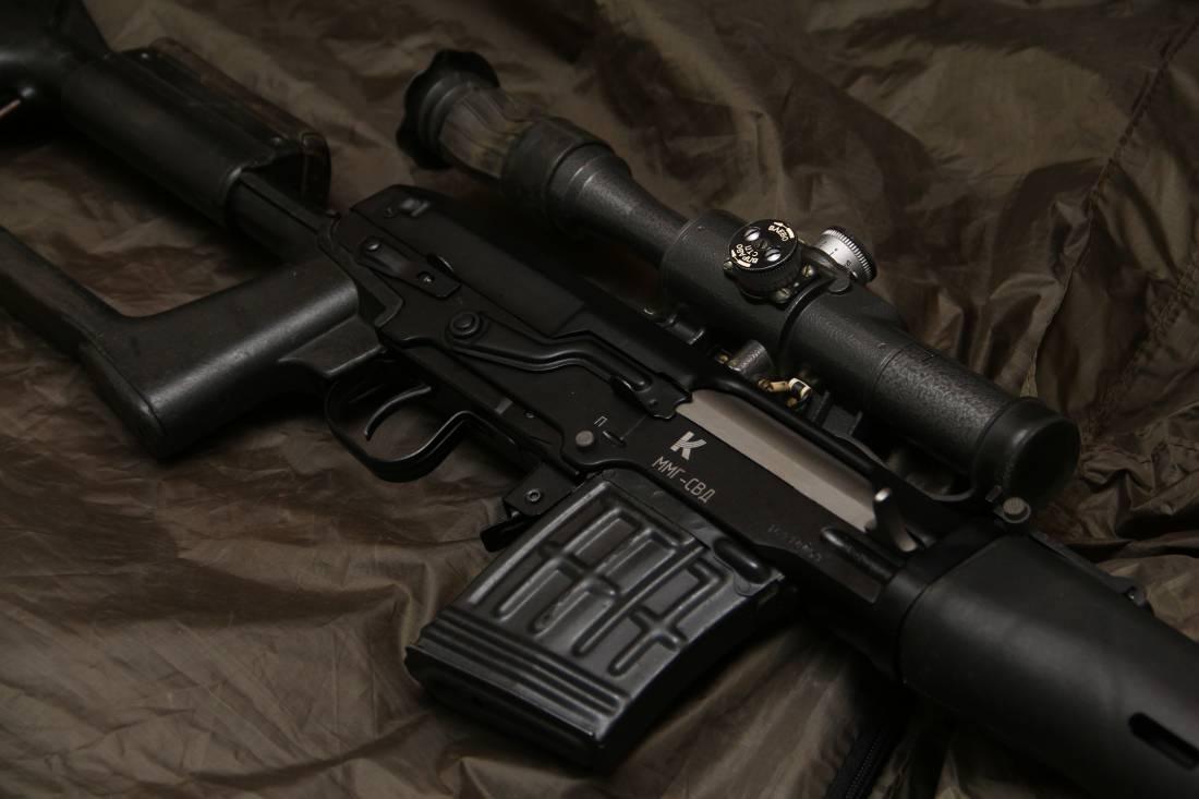 Фото Снайперская винтовка Драгунова СВД №16910059