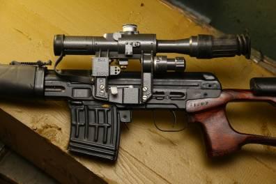 Советская винтовка «СВД» 1970 года №Х685