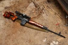 Советская винтовка «СВД» 1972 года №К-581