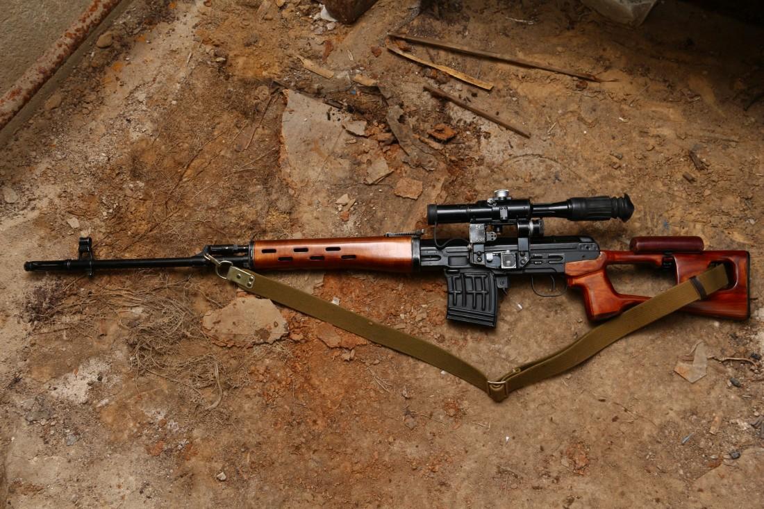 Фото Советская винтовка «СВД» 1972 года №К-581