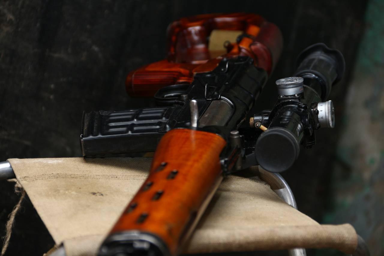 Советская снайперская винтовка Драгунова: СВД 1972 года К-581