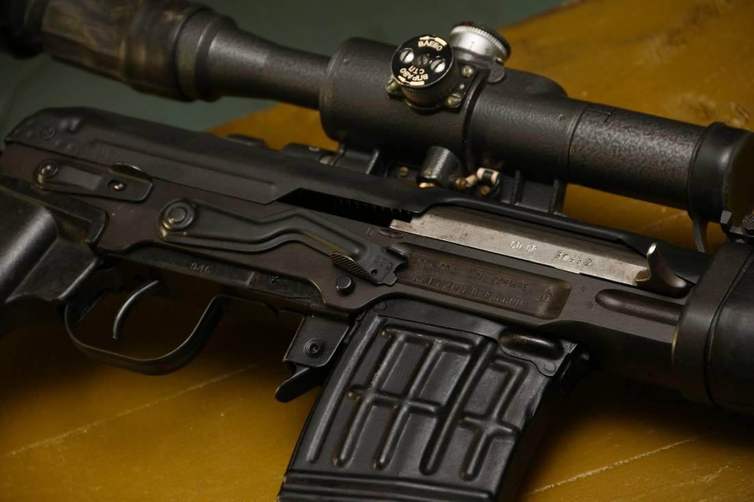 Фото Советская винтовка «СВД» 1984 года №37952