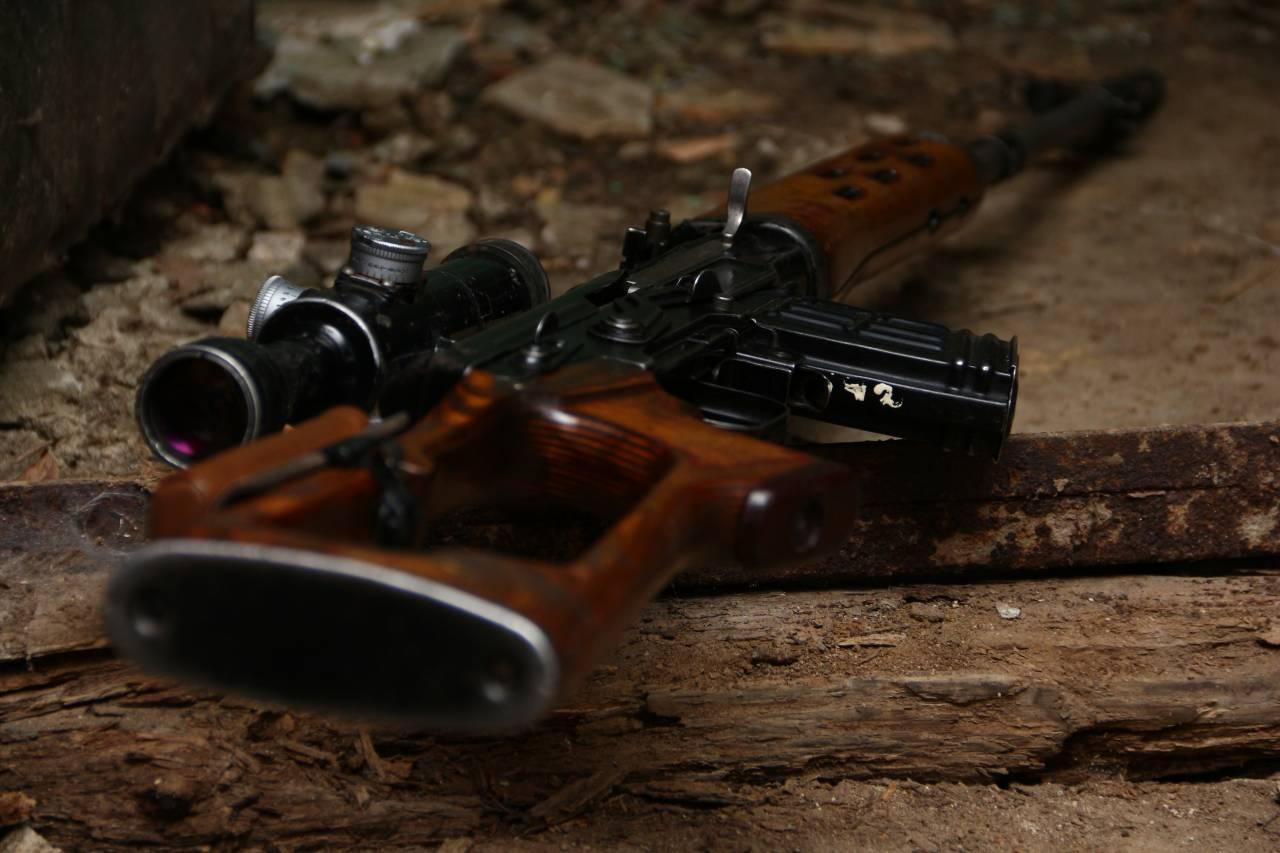 Армейская советская снайперская винтовка Драгунова: СВД 1984 год, №39816