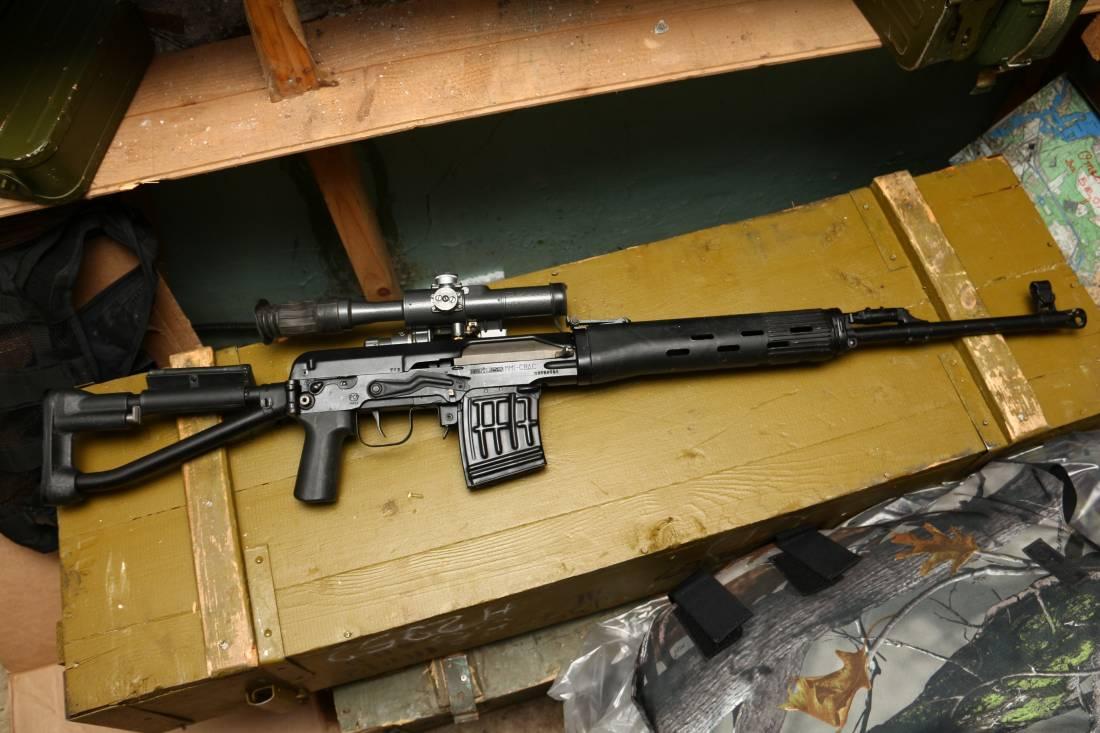 Фото Снайперская винтовка Драгунова СВД-С (складная) №09159061