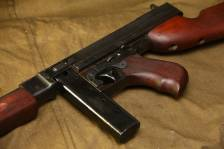 Пистолет-пулемет Томпсон М1; 1942 год; #10607; ленд-лиз