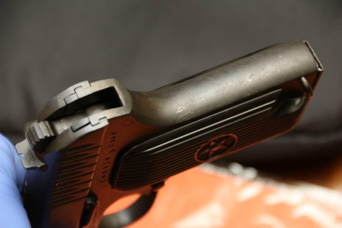 Фото Охолощенный пистолет ТТ-СХ 1943 года, №БМ5013