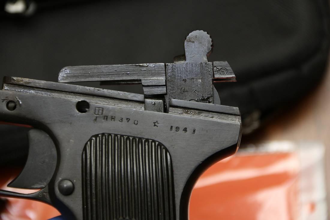 Фото Охолощенный пистолет ТТ-СХ 1941 года, №ПН370