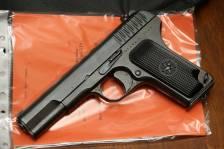 Охолощенный пистолет ТТ-СХ 1943 года, №ПА1814