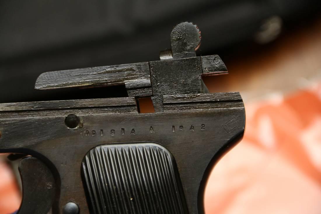 Фото Охолощенный пистолет ТТ-СХ 1943 года, №ПА1814