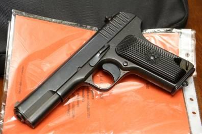 Охолощенный пистолет ТТ-СХ 1939 года, №ПО784