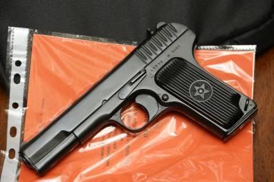 Охолощенный пистолет ТТ-СХ 1938 года, №ХГ708