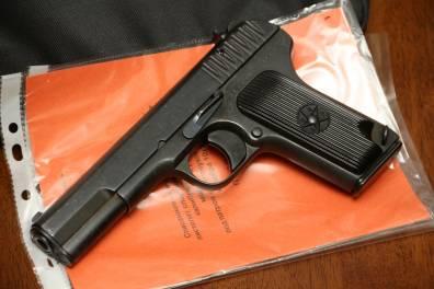 Охолощенный пистолет ТТ-СХ 1939 года, №ВК329