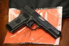 Охолощенный пистолет ТТ-СХ 1939 года, №ДБ643