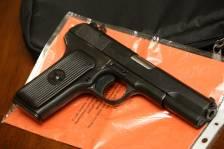 Охолощенный пистолет ТТ-СХ 1953 года, №НА4347