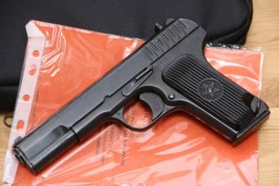 Охолощенный пистолет ТТ-СХ 1937 года, №41482