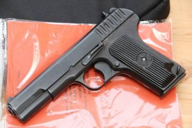 Охолощенный пистолет ТТ-СХ 1938 года №ИЧ568