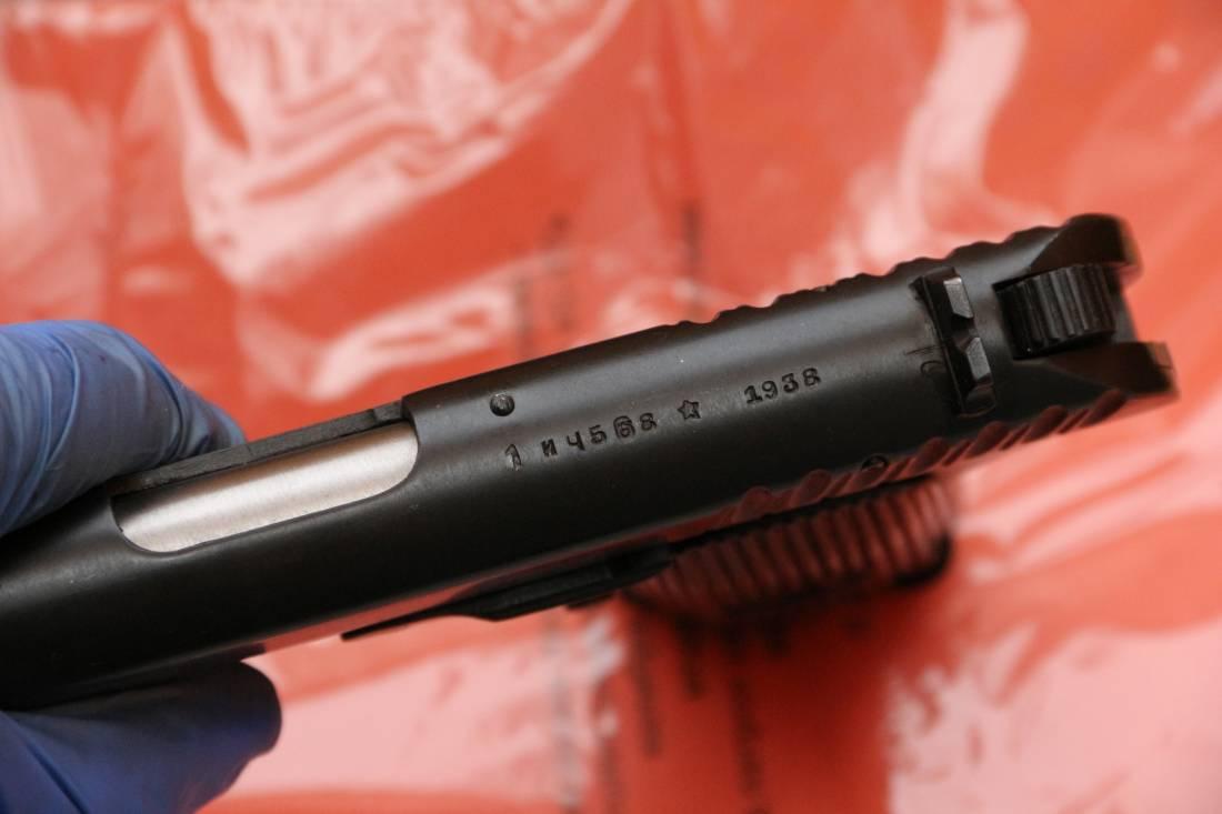 Фото Охолощенный пистолет ТТ-СХ 1938 года №ИЧ568