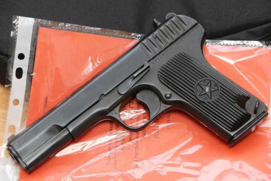 Фото Охолощенный пистолет ТТ-СХ 1939 года №ЛГ817