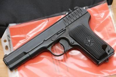 Охолощенный пистолет ТТ-СХ 1940 года №НА318