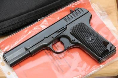 Охолощенный пистолет ТТ-СХ 1940 года №ДВ364