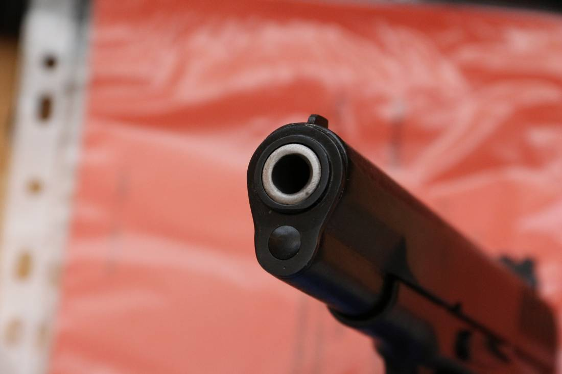 Фото Охолощенный пистолет ТТ-СХ 1940 года №ДВ364