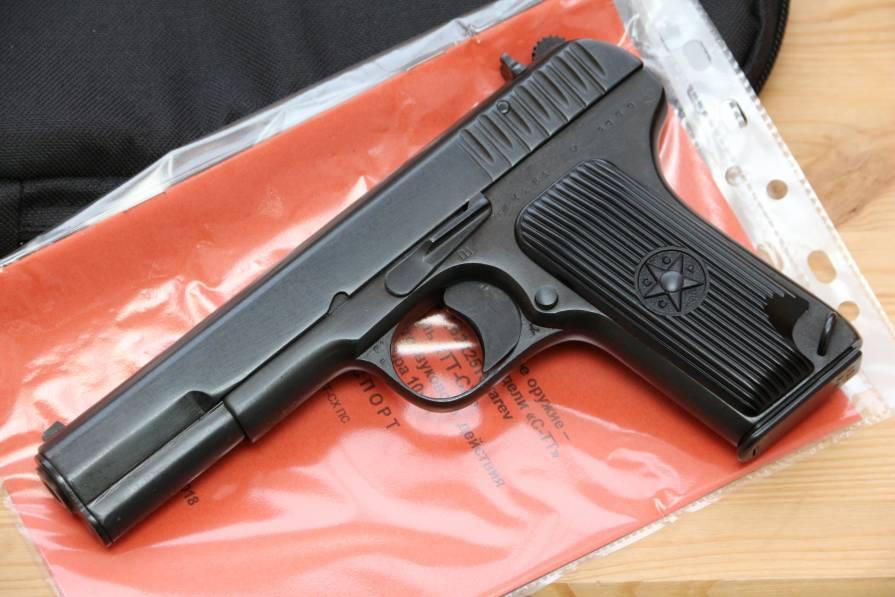 Фото Охолощенный пистолет ТТ-СХ 1939 года №ЖК151