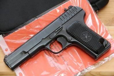 Охолощенный пистолет ТТ-СХ 1938 года №УК939