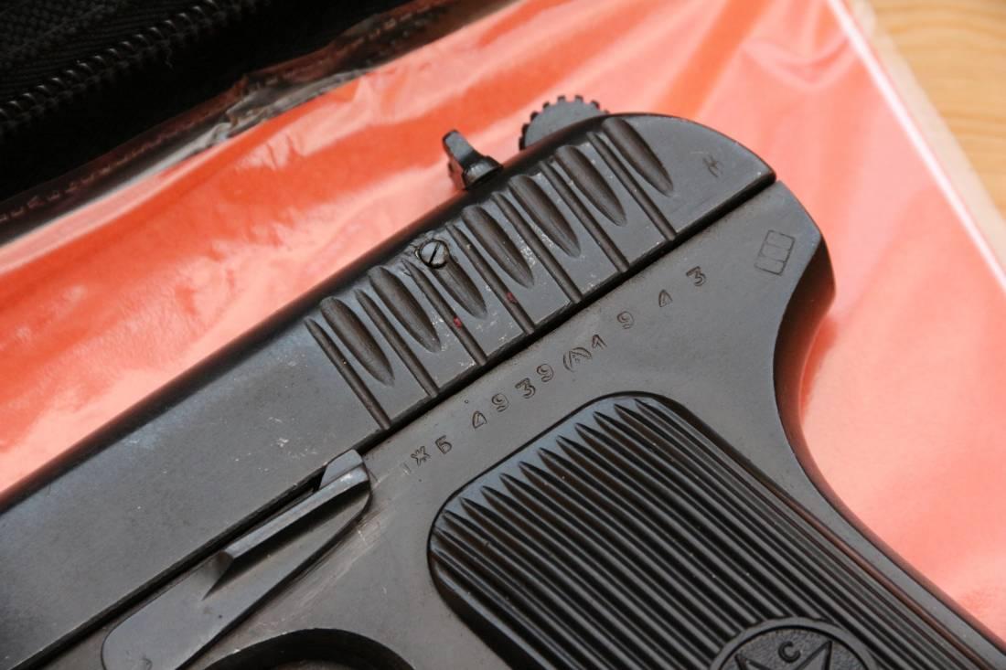 Фото Охолощенный пистолет ТТ-СХ 1943 года №ЖБ4939