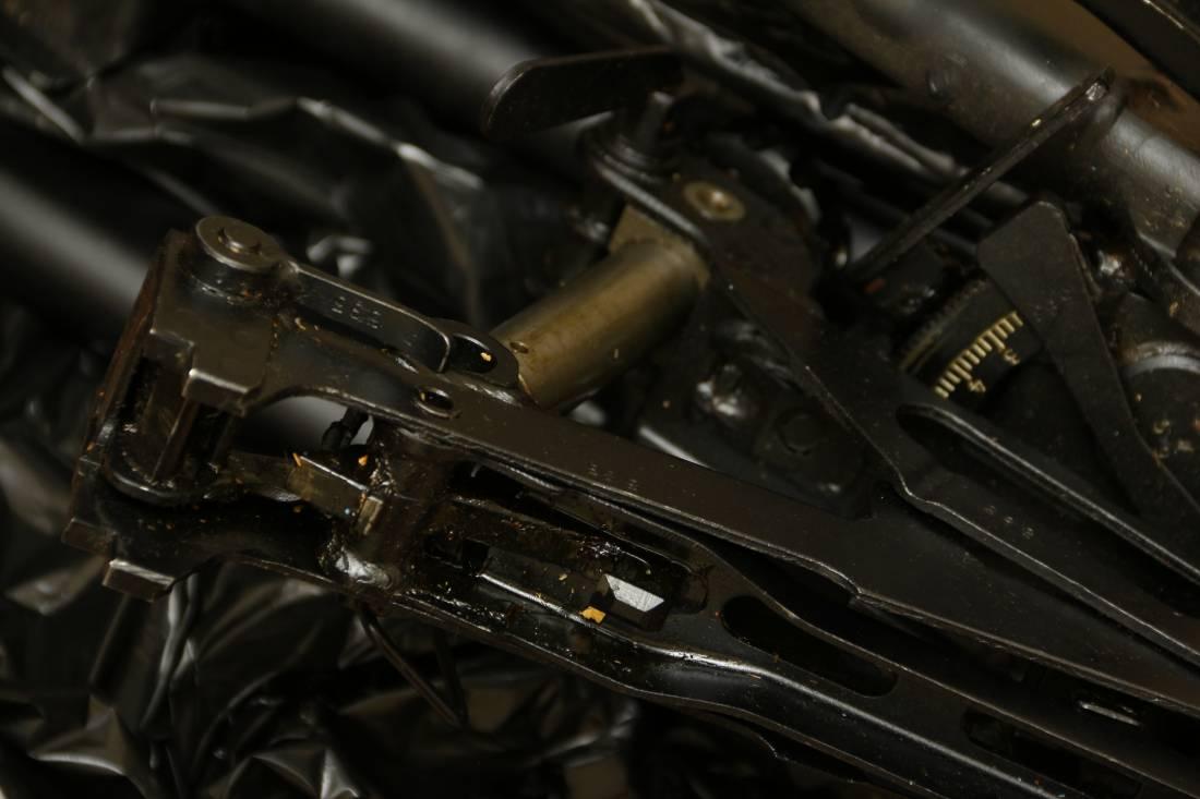 Фото Советский пулемет Калашникова 1966 года «ПК» №ИМ393, станок Саможенкова 1966 года