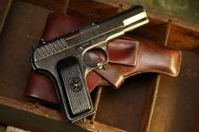 Советский военный пистолет ТТ 1942 года №ЗЖ4966