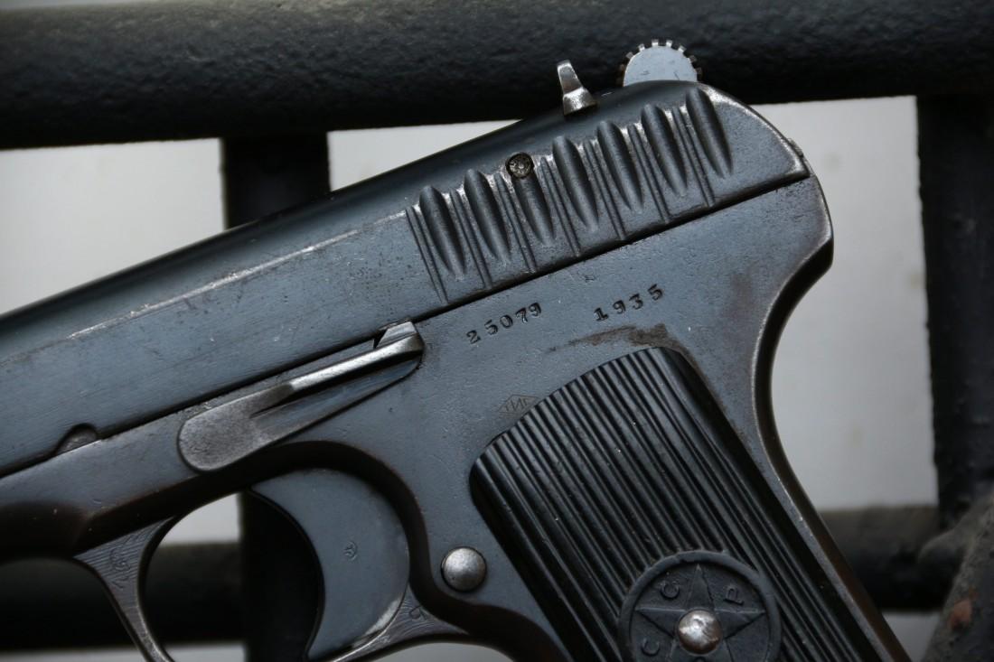 Фото Охолощенный пистолет ТТ-30 1935 года №25079