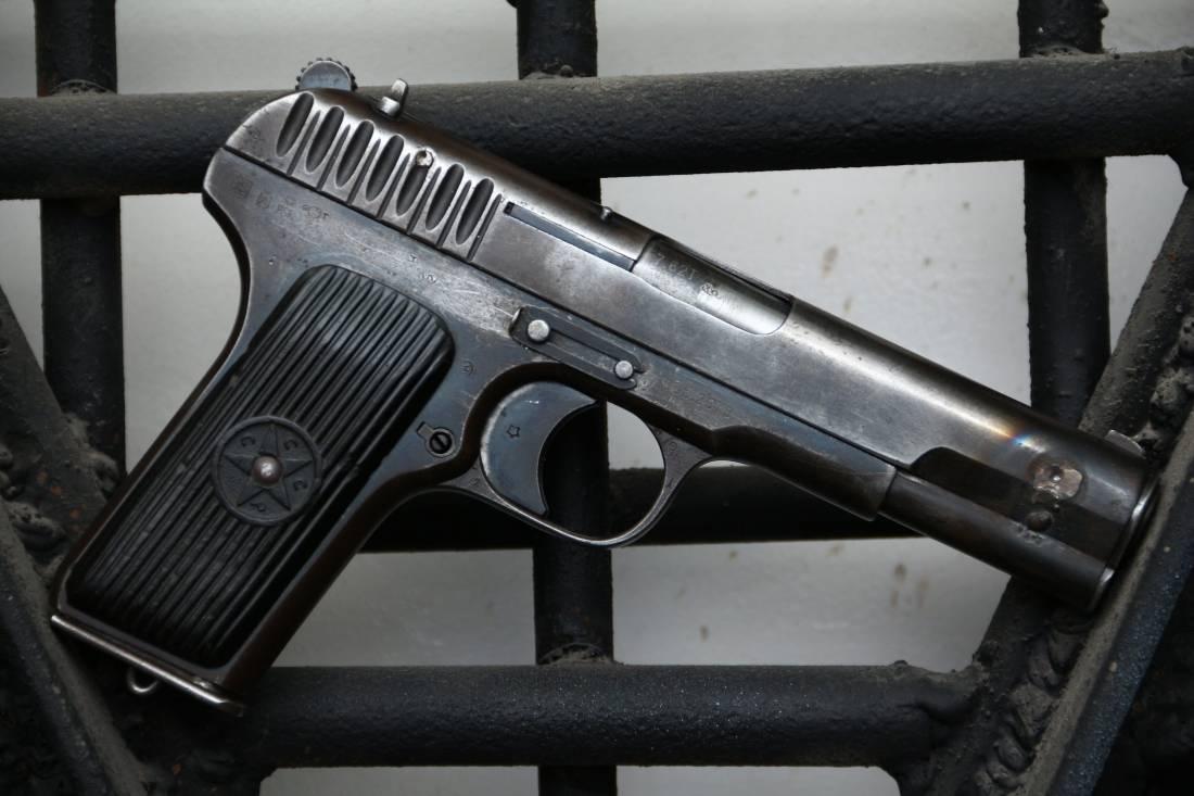 Фото Охолощенный пистолет ТТ-30 1935 года #27497