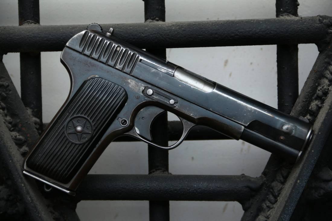 Фото Охолощенный пистолет ТТ-30 1935 года №27227