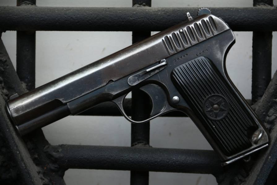 Фото Охолощенный пистолет ТТ-30 1935 года №28799