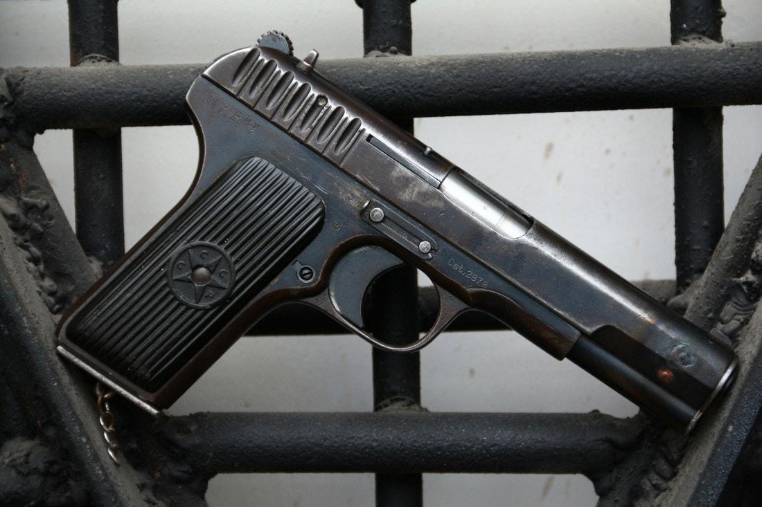 Фото Охолощенный пистолет ТТ-30 1935 года №27760