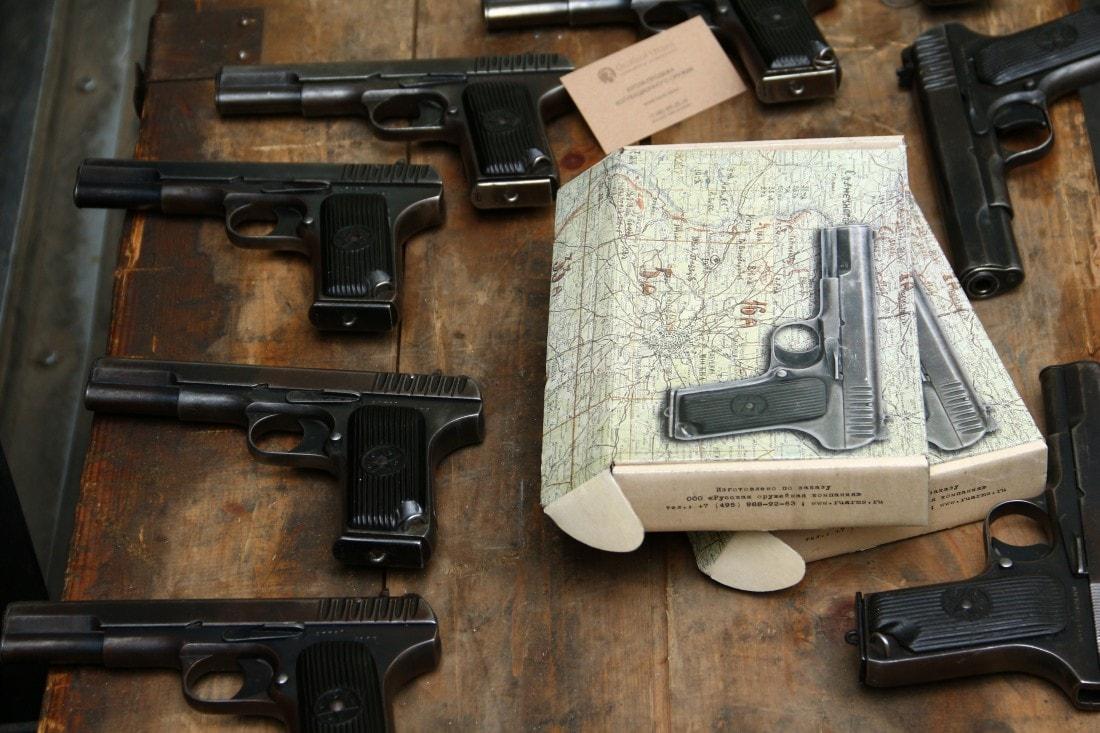 Фото Охолощенный пистолет ТТ 1946 года №ГЕ1499