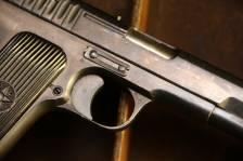 Охолощенный советский пистолет ТТ 1936 года №36801