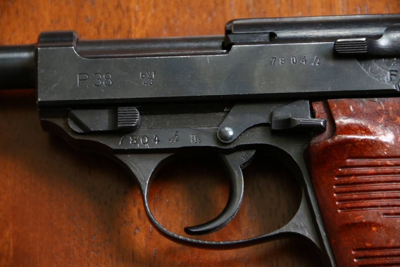 Walther P. 38 byf43