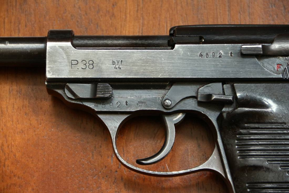 Фото Walther P. 38 byf44 #4592t