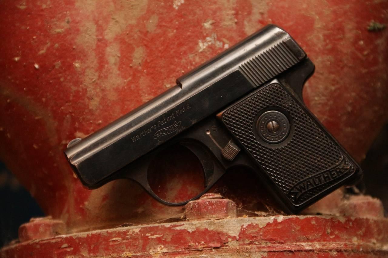 Жилетный пистолет Walther 9 модели в калибре 6.35